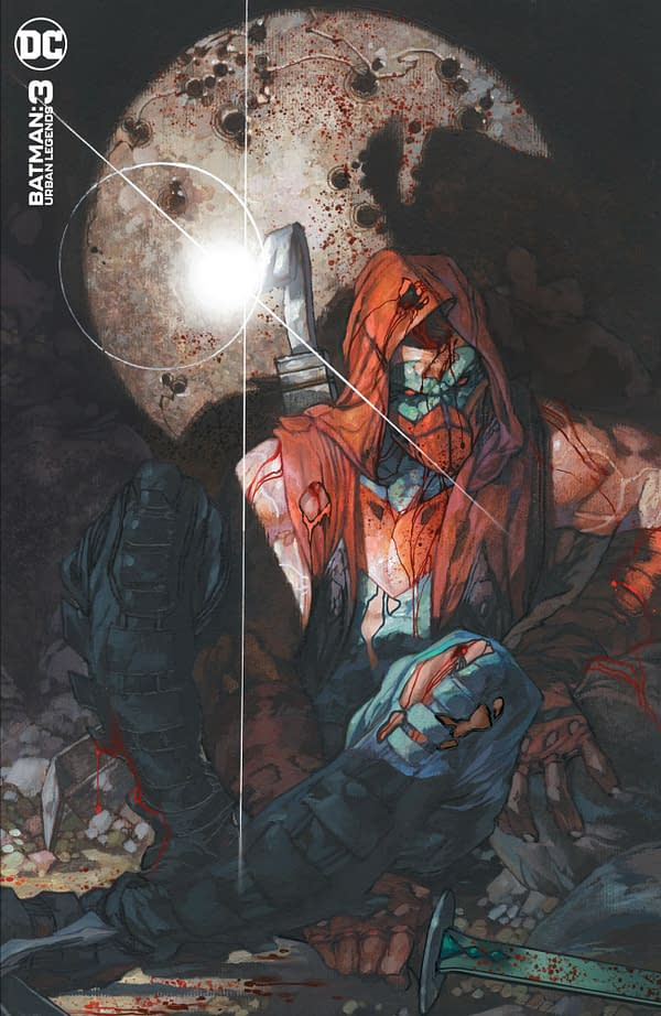 Cover image for BATMAN URBAN LEGENDS #3 CVR C SIMONE BIANCHI VAR