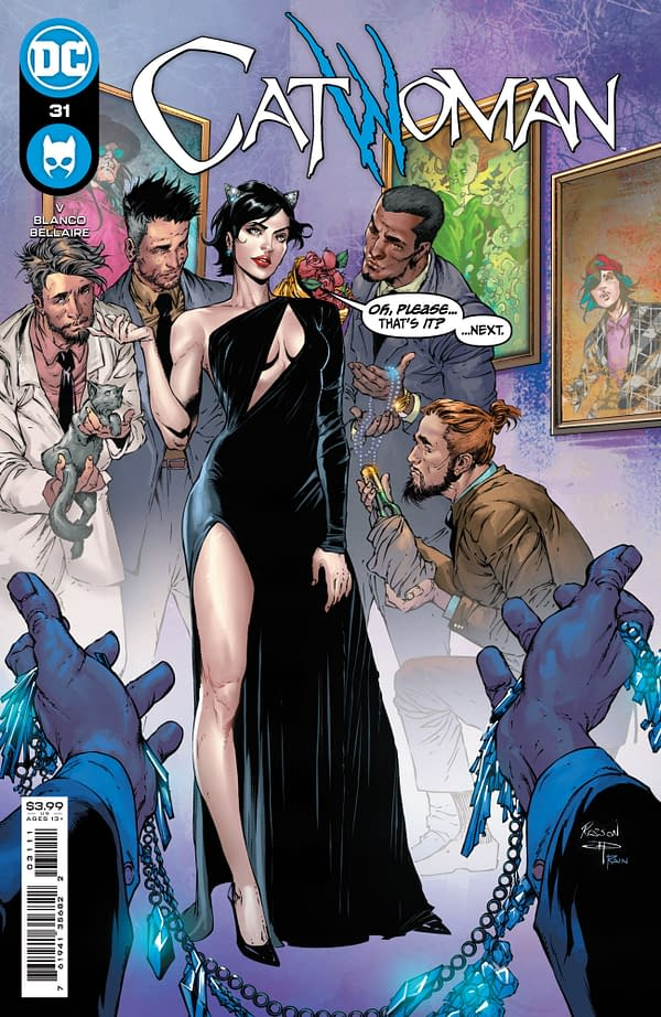Cover image for CATWOMAN #31 CVR A ROBSON ROCHA