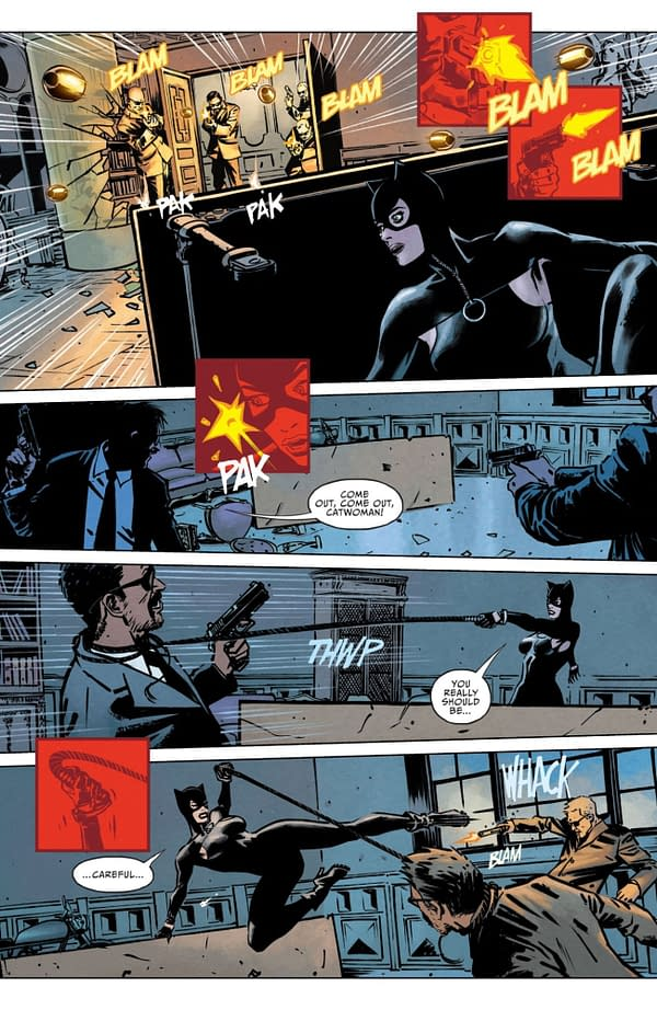Interior preview page from CATWOMAN #31 CVR A ROBSON ROCHA