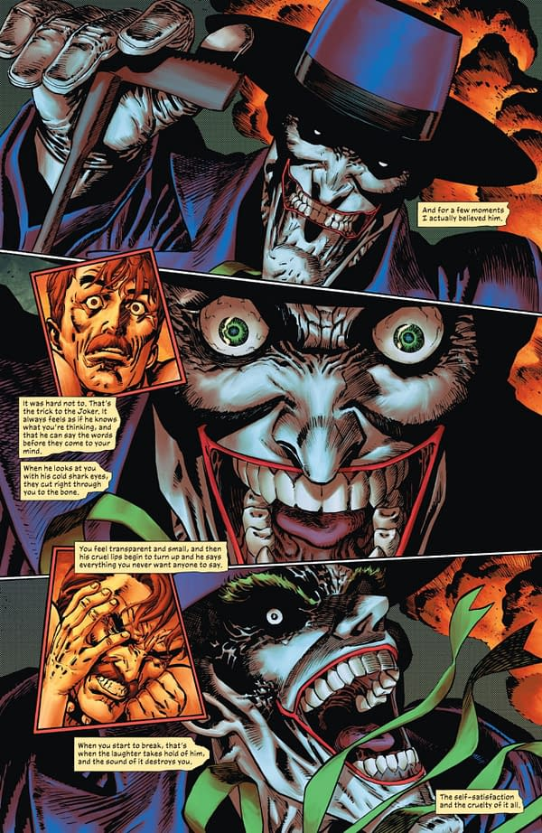 Interior preview page from JOKER #3 CVR A GUILLEM MARCH