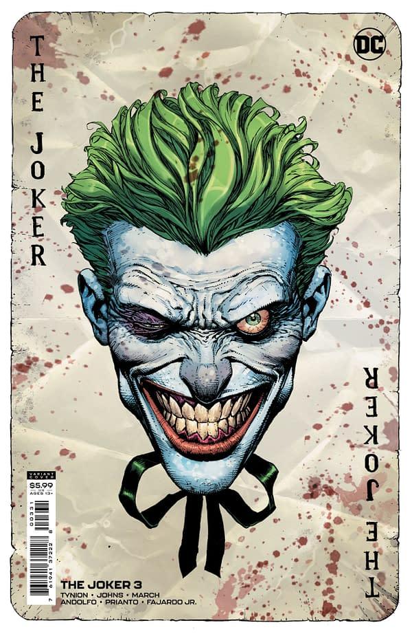 Cover image for JOKER #3 CVR B DAVID FINCH VAR