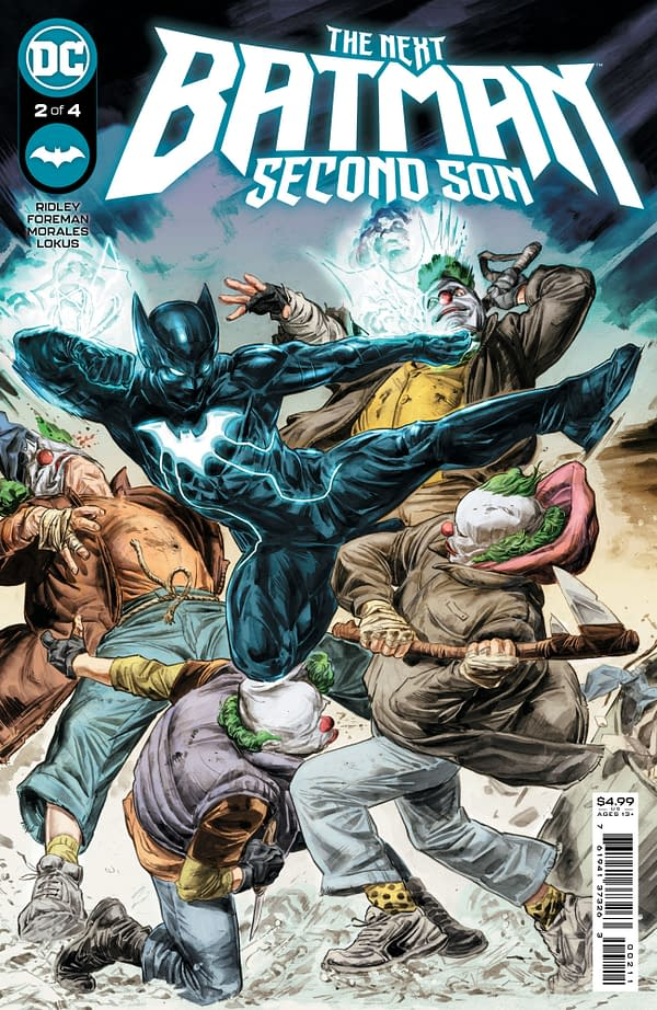Cover image for NEXT BATMAN SECOND SON #2 (OF 4) CVR A DOUG BRAITHWAITE