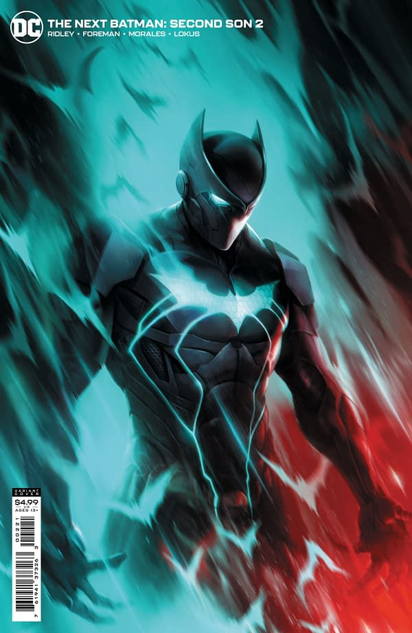Cover image for NEXT BATMAN SECOND SON #2 (OF 4) CVR B FRANCESCO MATTINA CARD STOCK VAR