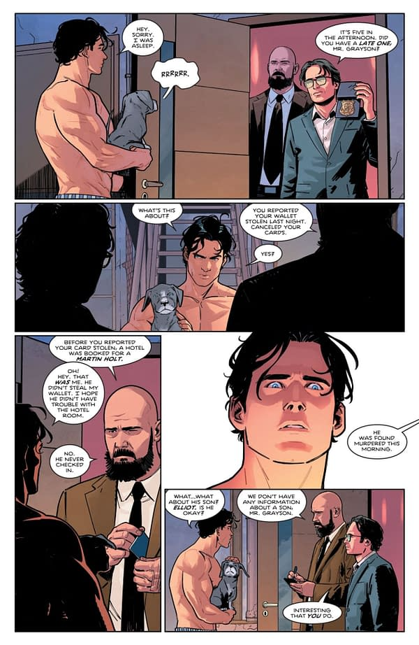Interior preview page from NIGHTWING #80 CVR A BRUNO REDONDO