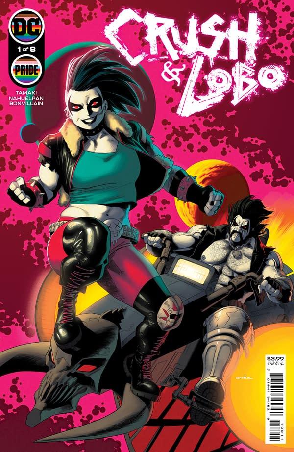 Cover image for CRUSH & LOBO #1 (OF 8) CVR A KRIS ANKA