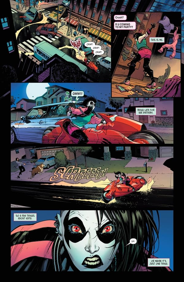 Interior preview page from CRUSH & LOBO #1 (OF 8) CVR A KRIS ANKA