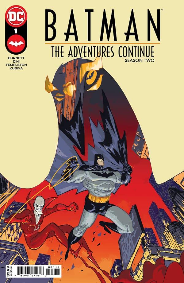 Cover image for BATMAN THE ADVENTURES CONTINUE SEASON II #1 CVR A RILEY ROSSMO
