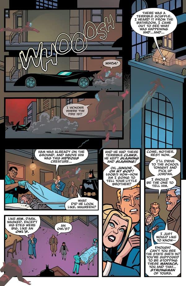 Interior preview page from BATMAN THE ADVENTURES CONTINUE SEASON II #1 CVR A RILEY ROSSMO