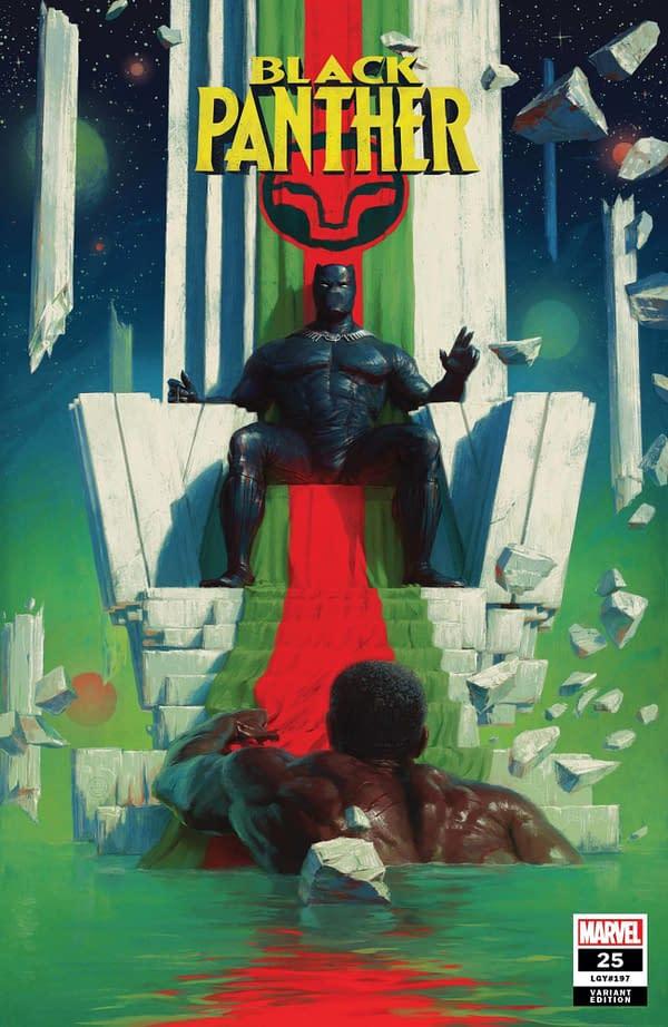 Cover image for BLACK PANTHER #25 SPRATT VAR