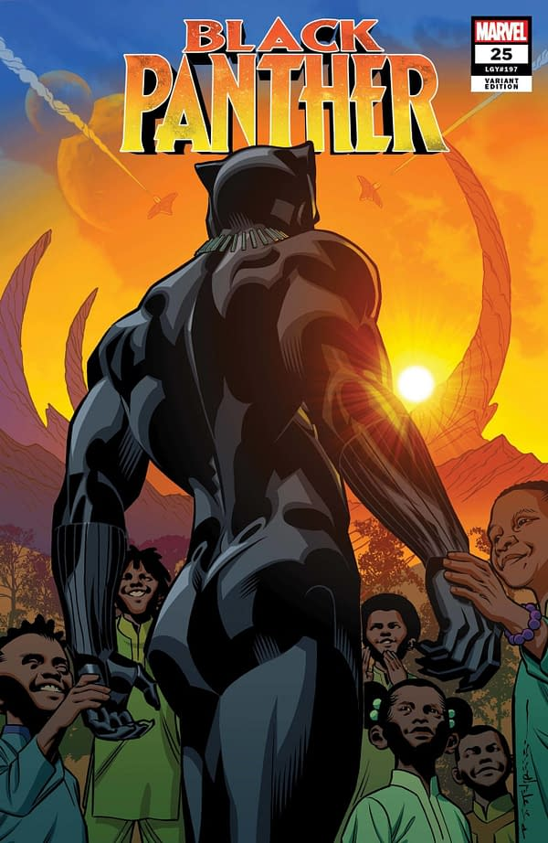Cover image for BLACK PANTHER #25 STELFREEZE FINAL ISSUE VAR