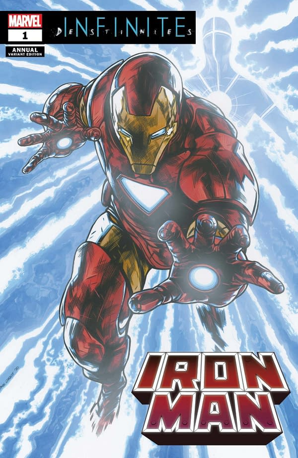 Cover image for IRON MAN ANNUAL #1 CHAREST VAR (RES)