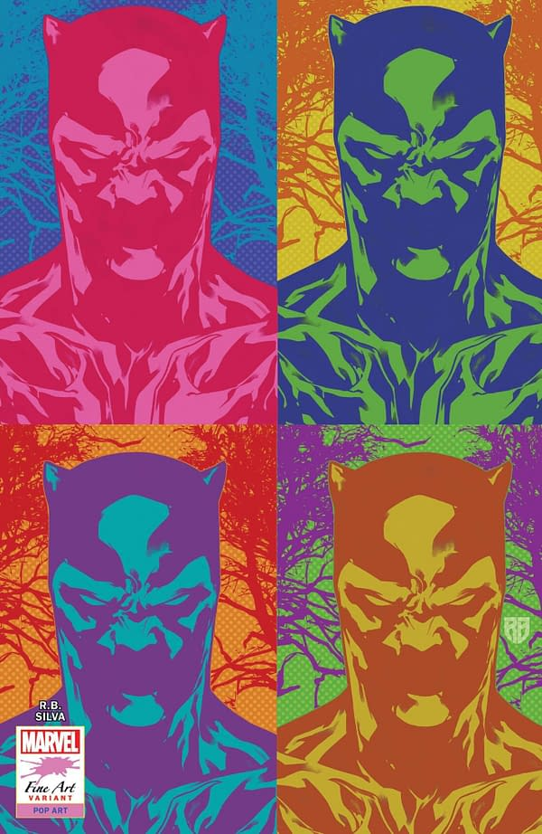 Cover image for BLACK PANTHER #25 SILVA STORMBREAKERS VAR