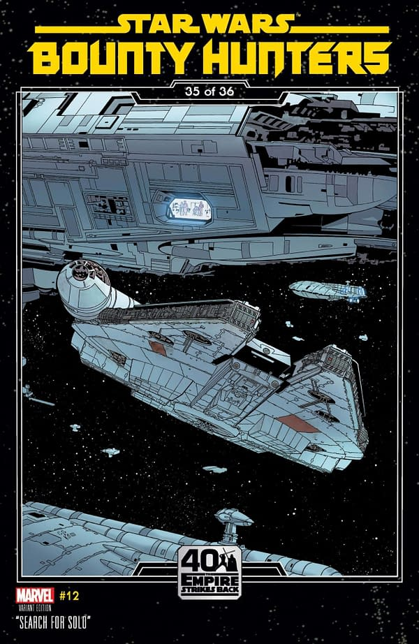 Cover image for STAR WARS BOUNTY HUNTERS #12 SPROUSE EMPIRE STRIKES BACK VAR