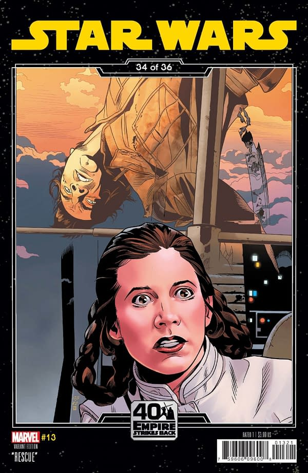 Cover image for STAR WARS #13 SPROUSE EMPIRE STRIKES BACK VAR