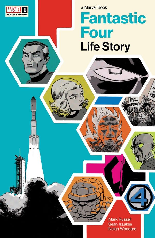 Cover image for FANTASTIC FOUR LIFE STORY #1 (OF 6) MARTIN VAR