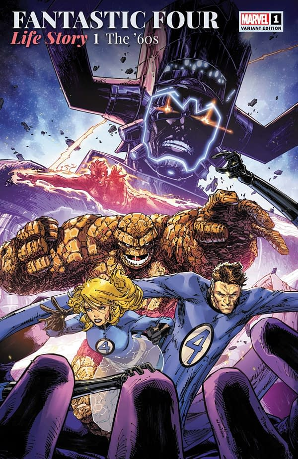 Cover image for FANTASTIC FOUR LIFE STORY #1 (OF 6) BOOTH VAR