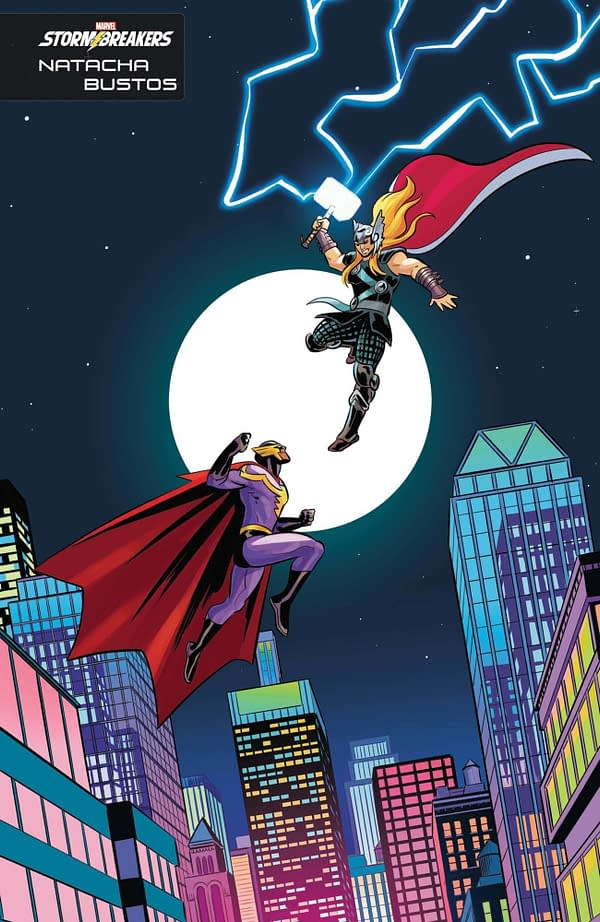 Cover image for HEROES REBORN #2 (OF 7) BUSTOS STORMBREAKERS VAR