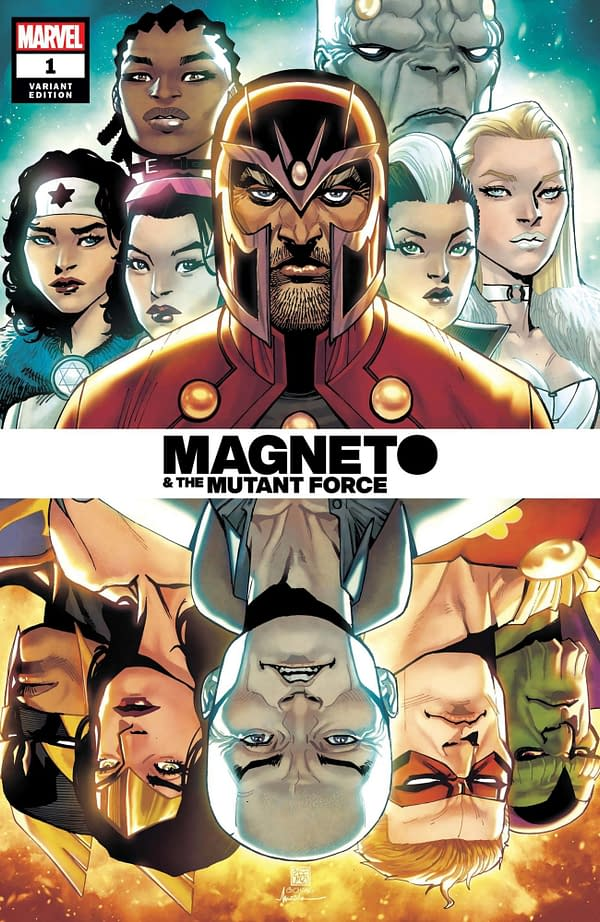 Cover image for HEROES REBORN MAGNETO AND MUTANT FORCE #1 CHANG SPOILER VAR