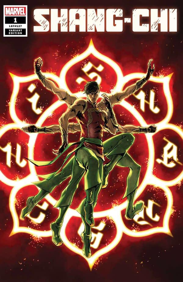 Cover image for SHANG-CHI #1 SUPERLOG VAR