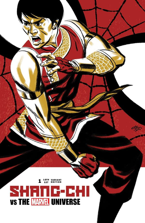 Cover image for SHANG-CHI #1 CHO VAR