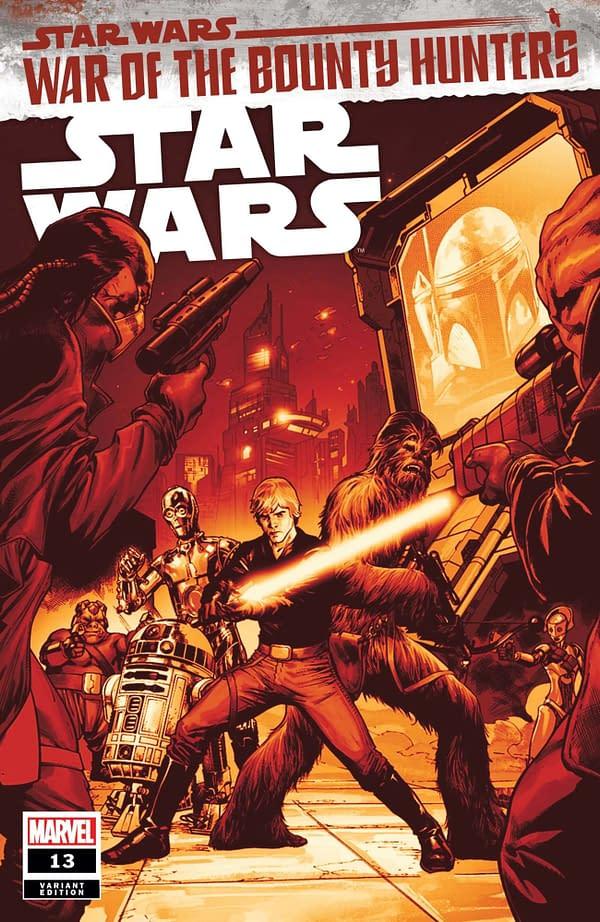 Cover image for STAR WARS #13 PAGULAYAN CRIMSON VAR