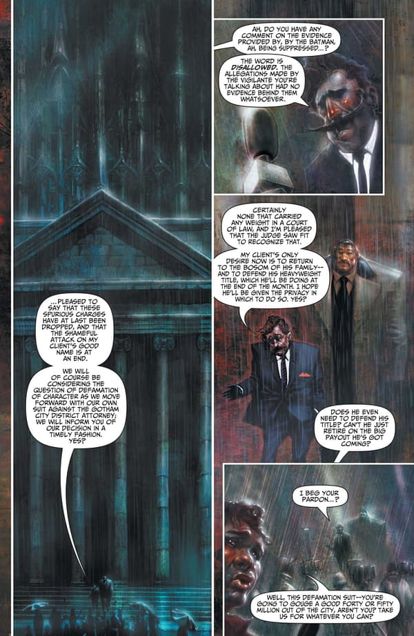 Interior preview page from BATMAN REPTILIAN #1 (OF 6) CVR A LIAM SHARP CARD STOCK