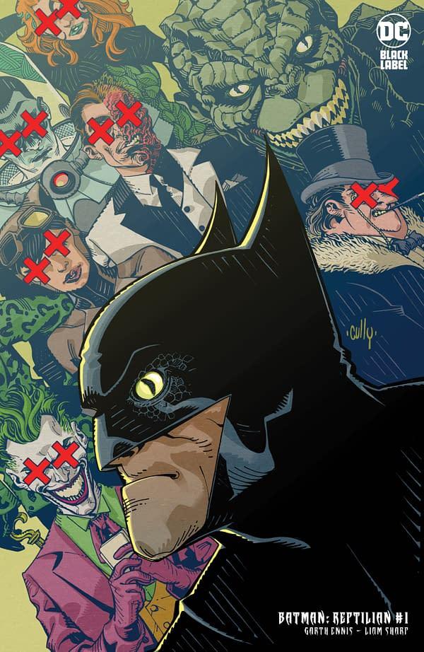 Cover image for BATMAN REPTILIAN #1 (OF 6) CVR B CULLY HAMNER VAR