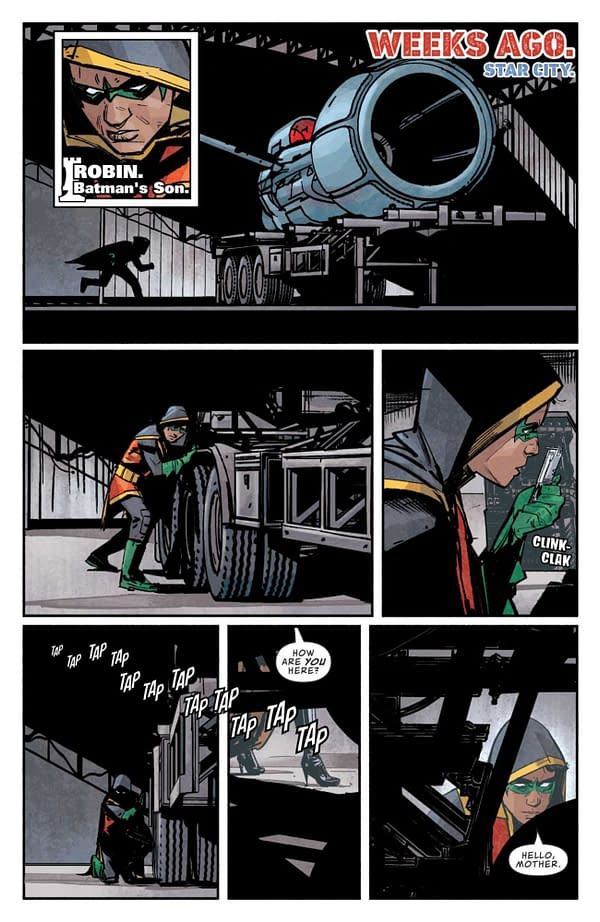 Interior preview page from CHECKMATE #1 CVR A ALEX MALEEV
