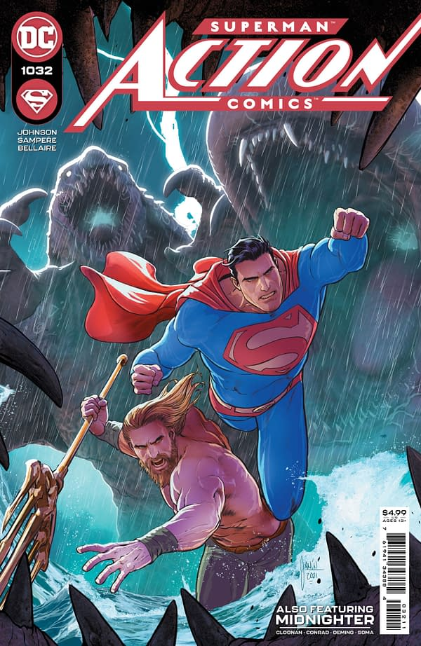 Cover image for ACTION COMICS #1032 CVR A MIKEL JANIN