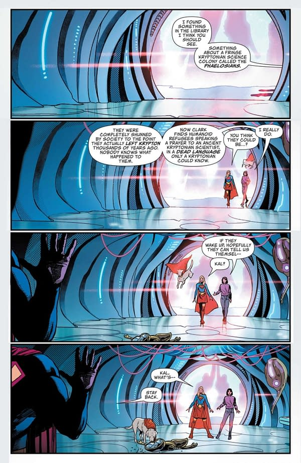 Interior preview page from ACTION COMICS #1032 CVR A MIKEL JANIN
