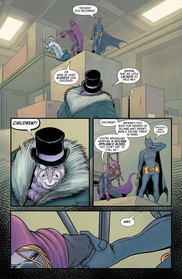 Interior preview page from DETECTIVE COMICS #1038 CVR A DAN MORA