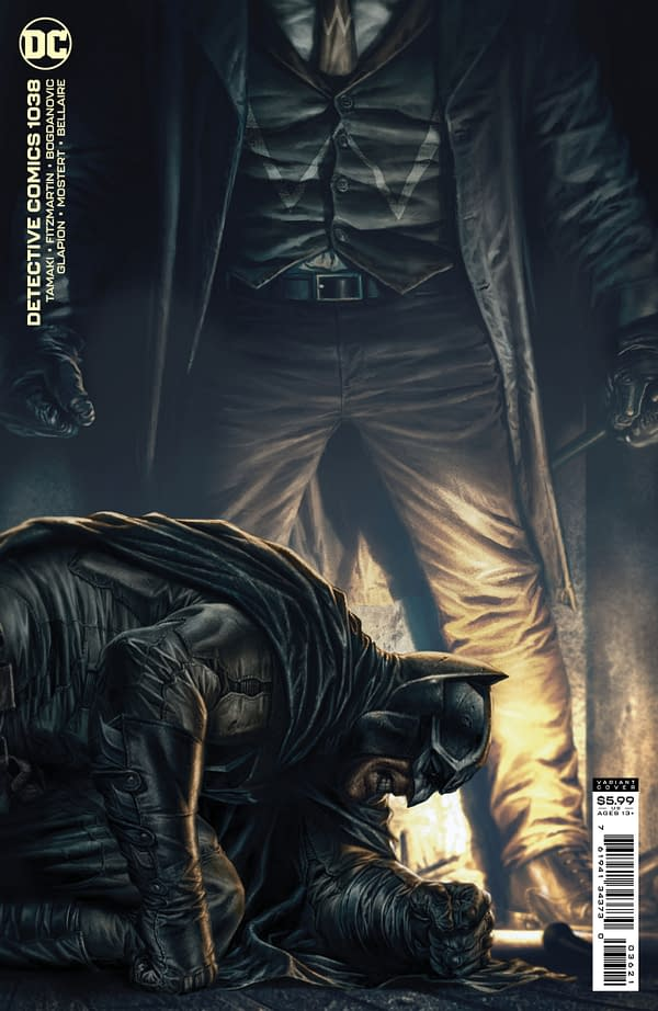 Cover image for DETECTIVE COMICS #1038 CVR B LEE BERMEJO CARD STOCK VAR