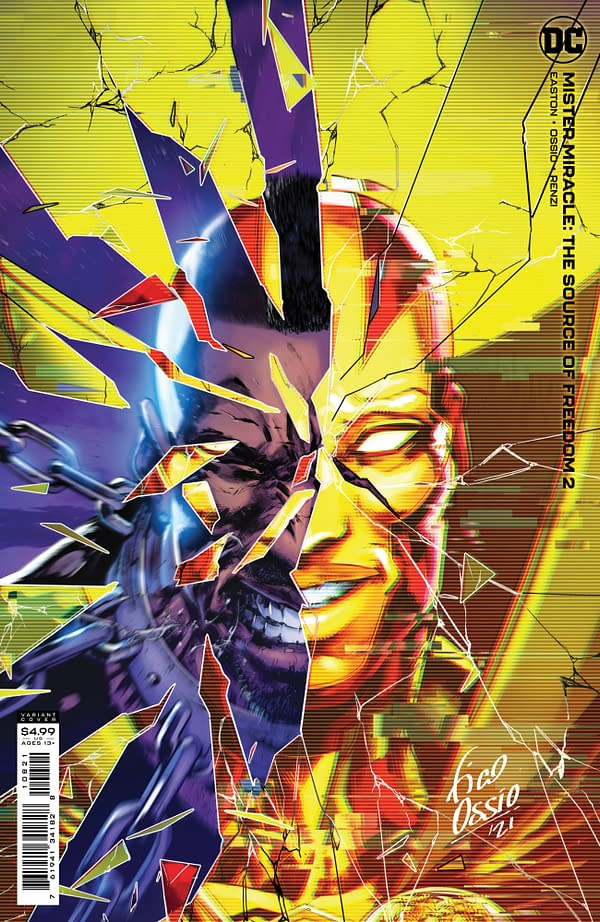 Cover image for MISTER MIRACLE THE SOURCE OF FREEDOM #2 (OF 6) CVR B FICO OSSIO CARD STOCK VAR