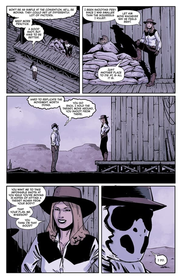Interior preview page from RORSCHACH #9 (OF 12) CVR A JORGE FORNES (MR)