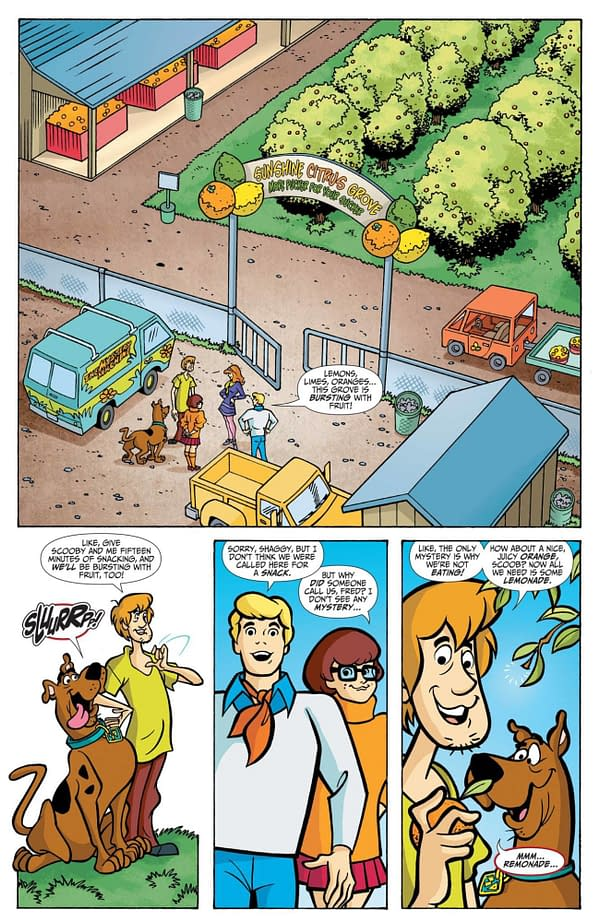 Interior preview page from SCOOBY-DOO WHERE ARE YOU #110