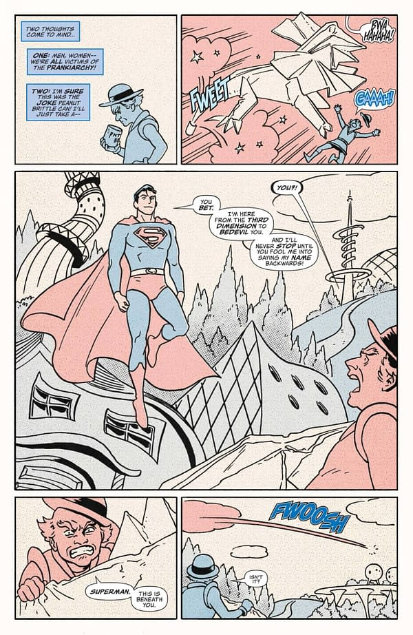Interior preview page from SUPERMAN RED & BLUE #4 (OF 6) CVR A JOHN ROMITA JR & KLAUS JANSON