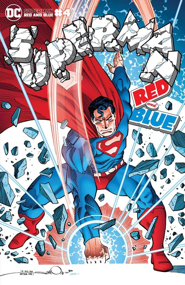 Cover image for SUPERMAN RED & BLUE #4 (OF 6) CVR B WALTER SIMONSON VAR
