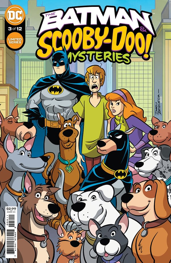 Cover image for BATMAN & SCOOBY-DOO MYSTERIES #3 (OF 12)