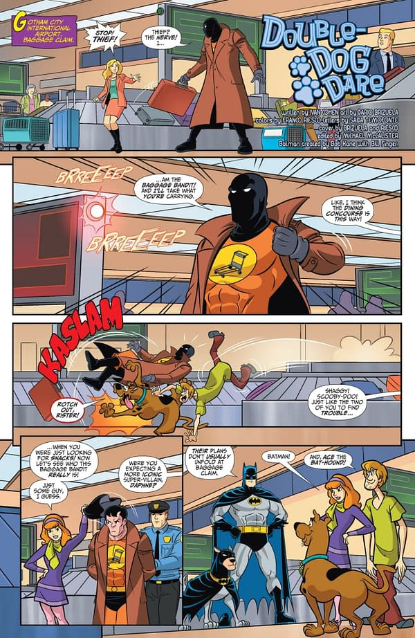 Interior preview page from BATMAN & SCOOBY-DOO MYSTERIES #3 (OF 12)