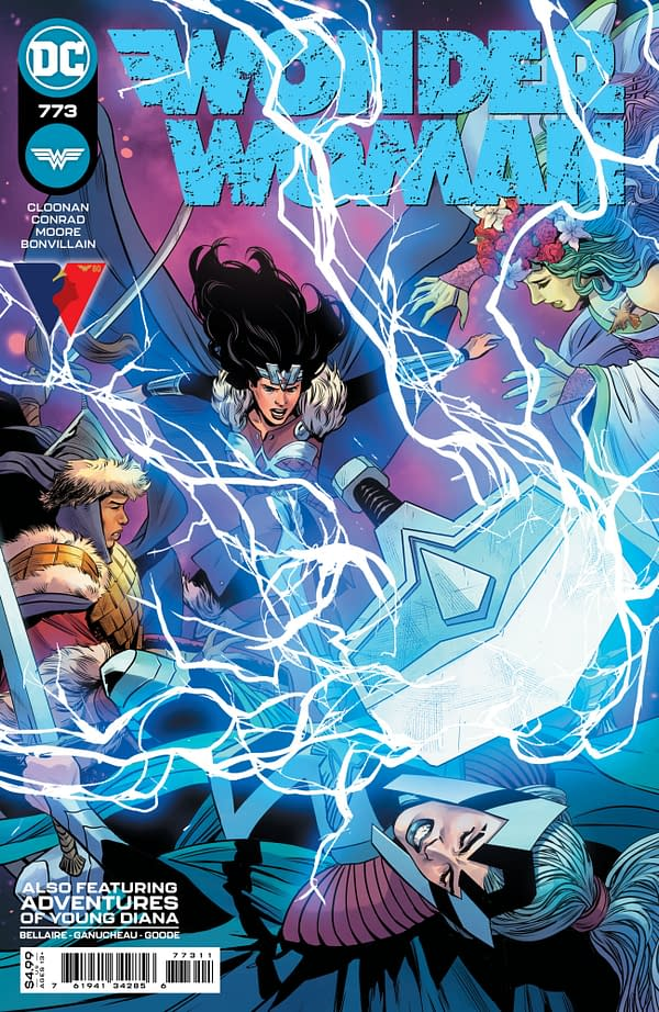 Cover image for WONDER WOMAN #773 CVR A TRAVIS MOORE