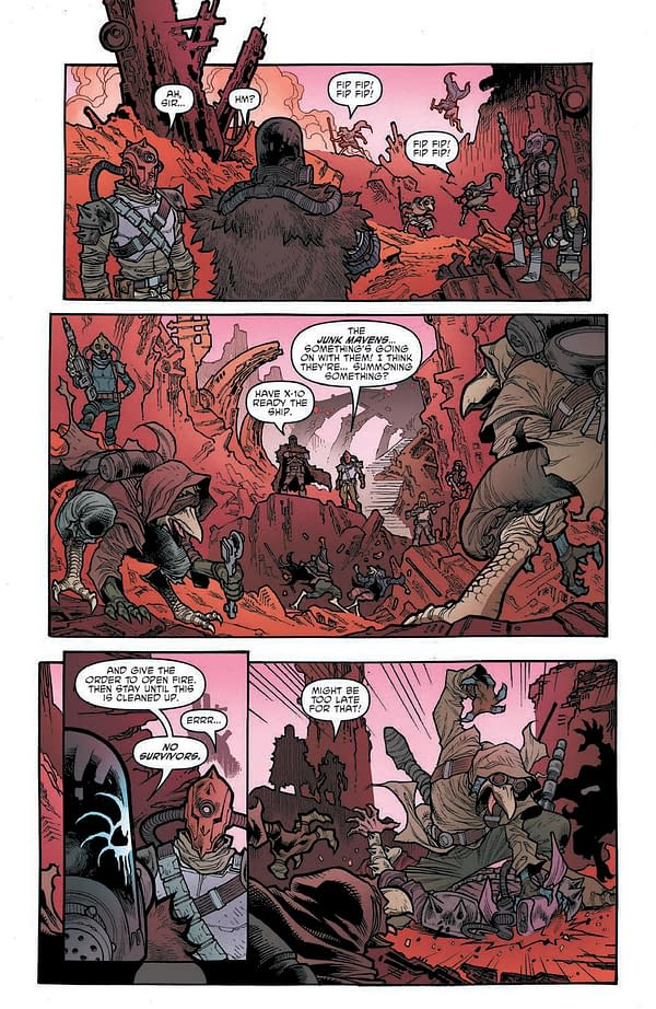 Interior preview page from STAR WARS HIGH REPUBLIC ADVENTURES #5