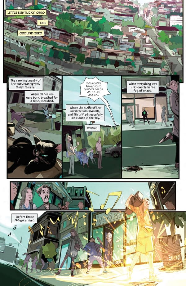 Interior preview page from GOOD LUCK #1 (OF 5) CVR A CORONA & PAREL INTERMIX