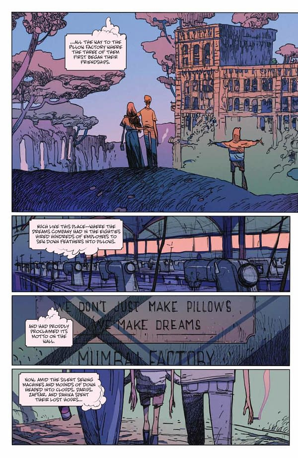 Interior preview page from MANY DEATHS OF LAILA STARR #3 (OF 5) CVR A ANDRADE