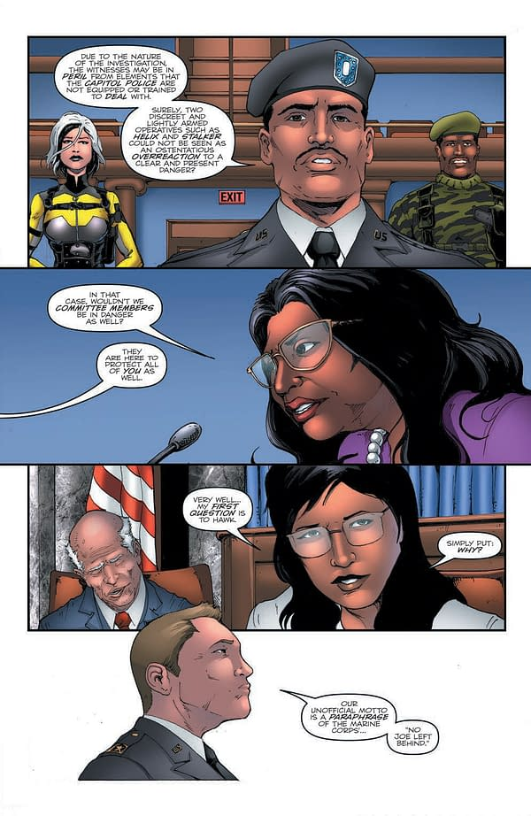 Interior preview page from GI JOE A REAL AMERICAN HERO #282 CVR A ANDREW GRIFFITH