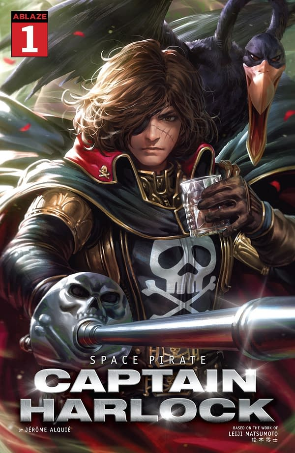 Captain Harlock #1 is An Introduction for Nostalgic and New Readers