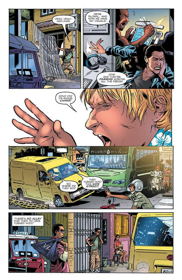 Interior preview page from GI JOE A REAL AMERICAN HERO #283 CVR A ANDREW GRIFFITH