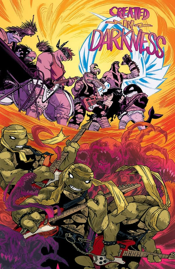 Interior preview page from TMNT ONGOING #117 CVR A SOPHIE CAMPBELL