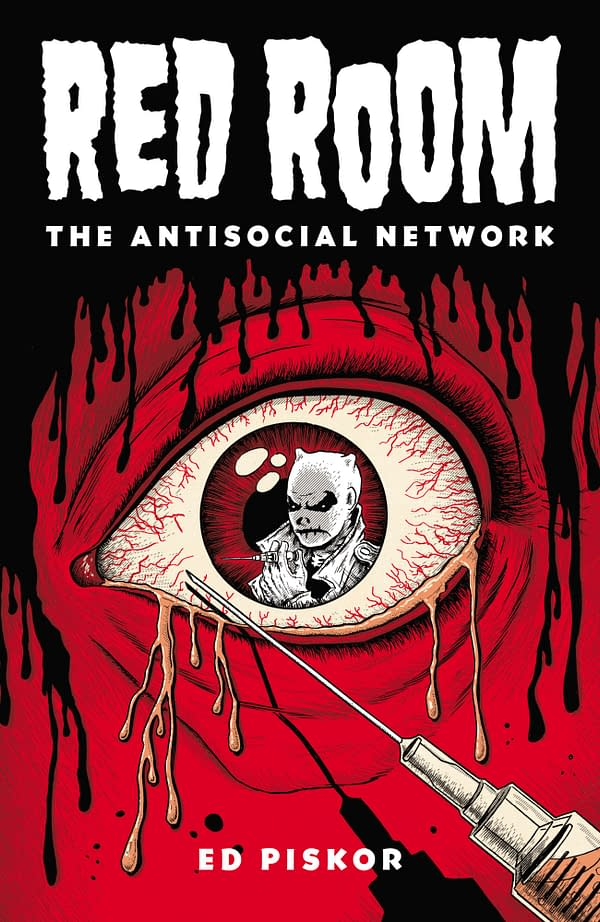 Ed Pickor's Red Room #3 Gets A TMNT Cover From Jim Rugg