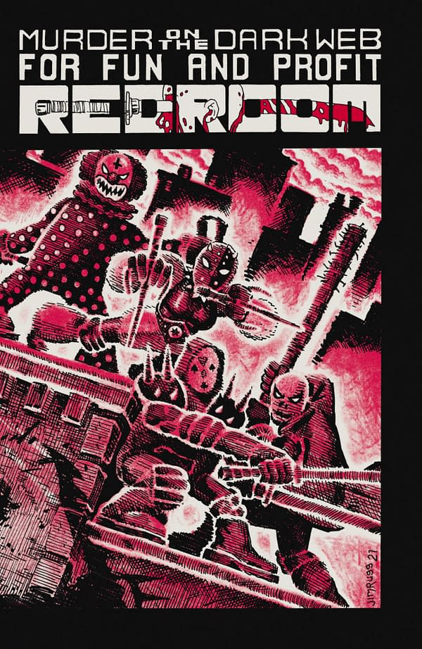 Ed Piskor's Red Room #3 Gets A TMNT Cover From Jim Rugg