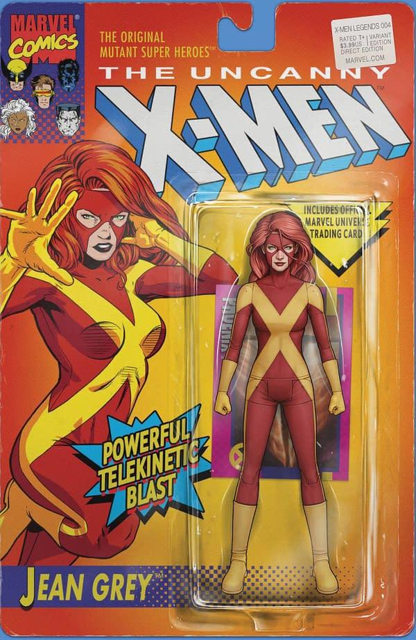 Cover image for X-MEN LEGENDS #4 CHRISTOPHER ACTION FIGURE VAR